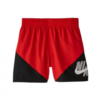 Nike Swim LOGO JACKKNIFE, kopalke, rdeča