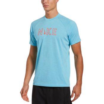 Nike Swim SHORT SLEEVE HYDROGUARD, maja, modra