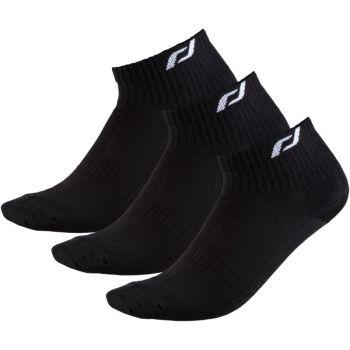 Pro Touch NEW LJUBLJANA 3-PACK UX, moške tekaške nogavice, črna