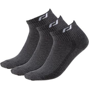 Pro Touch NEW LJUBLJANA 3-PACK UX, moške tekaške nogavice, siva