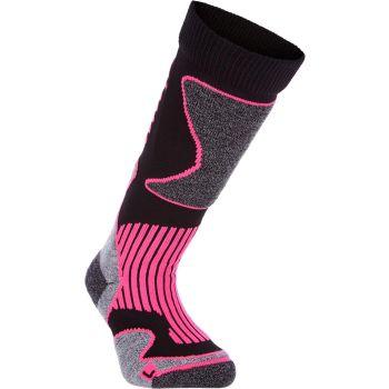 McKinley NEW NILS JRS, otroške smučarske nogavice, črna