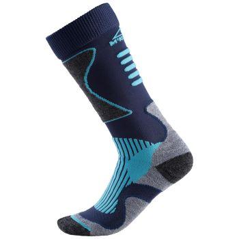 McKinley NEW NILS, moške smučarske nogavice, modra