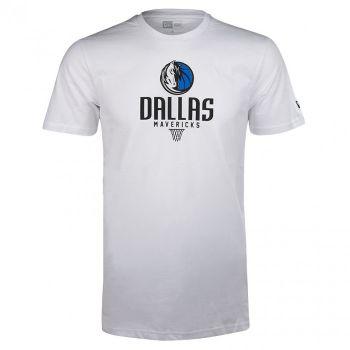 New Era NBA BASKET, moška majica, bela