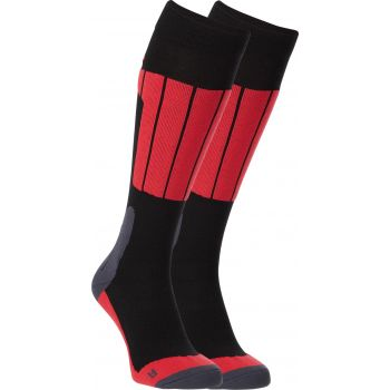 McKinley NEWCOMB II UX 2-PACK MCK, moške smučarske nogavice, črna