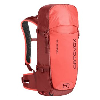 Ortovox TRAVERSE 28 S 2.0, pohodniški nahrbtnik, rdeča