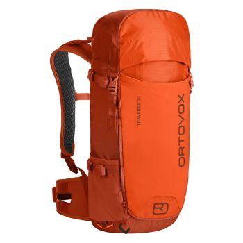 Ortovox TRAVERSE 30 2.0, pohodniški nahrbtnik, oranžna