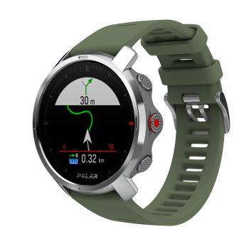 Polar GRIT X, večnamenska ura, zelena