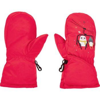 McKinley PRALOUP II, otroške smučarske rokavice, roza