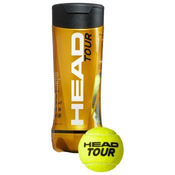 Head 3B HEAD TOUR, žoga za tenis, rumena