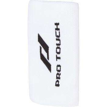Pro Touch WRISTBAND, teniški znojnik, bela