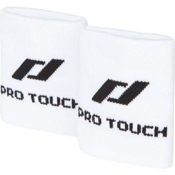 Pro Touch WRISTBAND 2/1, teniški znojnik, bela
