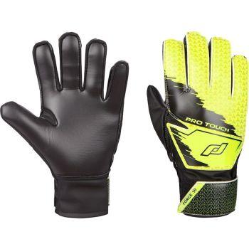 Pro Touch FORCE 30 BG, otroške nogometne rokavice, črna