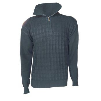 NES JAN, pulover m., siva