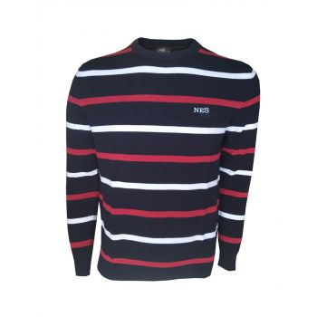 NES LUCAS, pulover m., modra