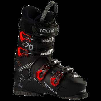 Tecnopro PULSE 70, moški smučarski čevlji, črna