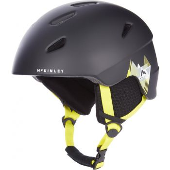 McKinley PULSE JR HS-016, otroška smučarska čelada, črna
