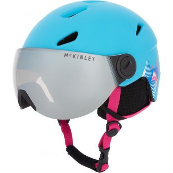 McKinley PULSE JR S2 VISOR HS-016, otroška smučarska čelada, modra