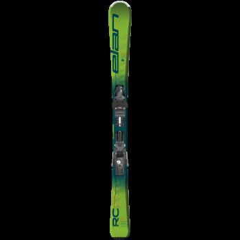 Elan RC RACE SHIFT + EL 7.5 GW SHIFT, set otroških smuči, zelena