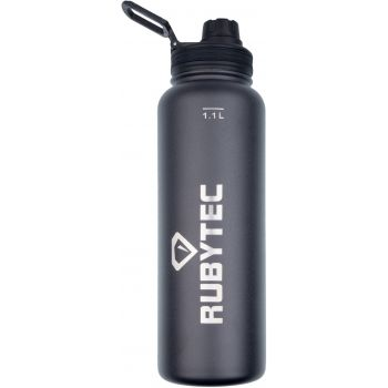 Rubytec SHIRA COOL 1,1L, steklenica termo, črna