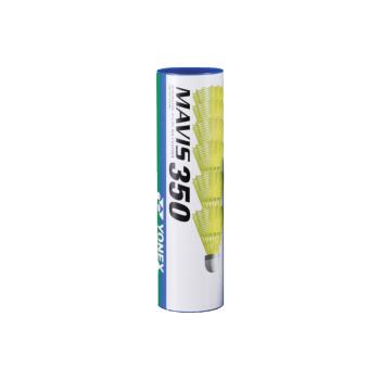 Yonex MAVIS 350 MIDDLE 6/1, žogica za badminton, rumena