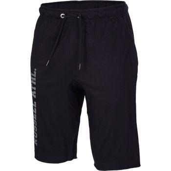 Russell Athletic DELBOY SHORTS, moške hlače, črna