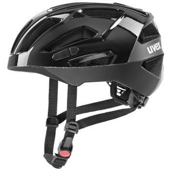 Uvex GRAVEL X, kolesarska čelada, črna