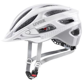 Uvex TRUE, kolesarska čelada, bela