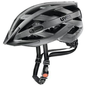 Uvex CITY I-VO, kolesarska čelada, srebrna