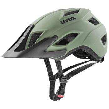 Uvex ACCESS, kolesarska čelada, zelena