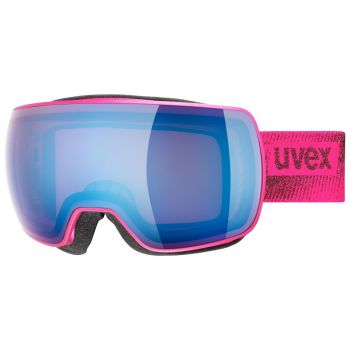 Uvex COMPACT FM, ženska smučarska očala, roza