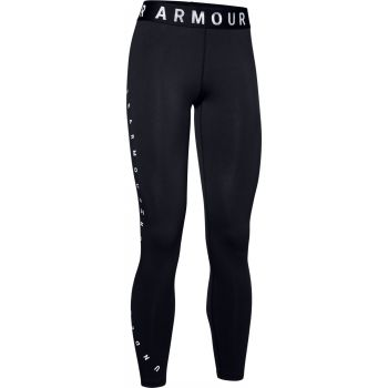 Under Armour FAVORITE GRAPHIC LEGGING, pajke ž.fit, črna