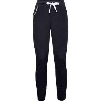 Under Armour RECOVER FLEECE PANTS, ženske fitnes hlače, črna