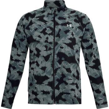 Under Armour LAUNCH3.0 STORM PRINT JKT, moška tekaška jakna, vzorčasto