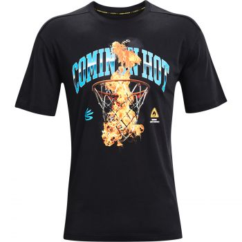 Under Armour CURRY COMING IN HOT TEE, majica, črna