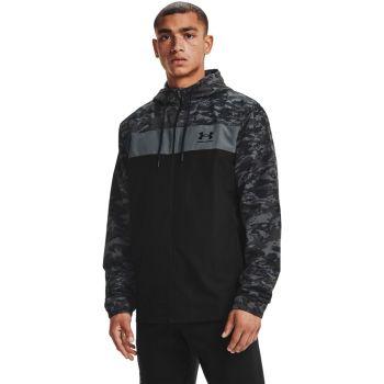 Under Armour SPORTSTYLE CAMO WNDBKR, moška jakna, črna