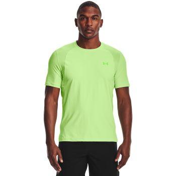 Under Armour ISOCHILL RUN 200 SS, moška tekaška majica, zelena