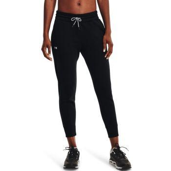 Under Armour RIVAL FLEECE MESH PANT, ženske fitnes hlače, črna