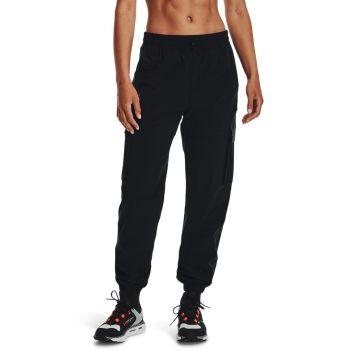 Under Armour RUSH WOVEN JOGGER, ženske fitnes hlače, črna