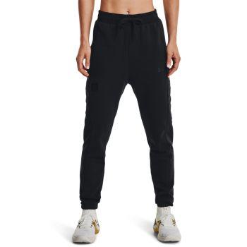 Under Armour PRJCT ROCK FLEECE PANT, ženske fitnes hlače, črna