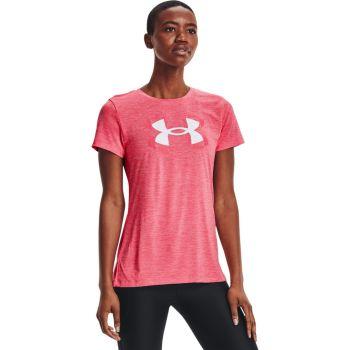 Under Armour TECH TWIST GRAPHIC SSC, ženska majica, roza