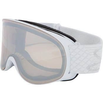 McKinley SAFINE S MIRROR, ženska smučarska očala, bela