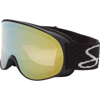McKinley SAFINE S MIRROR, ženska smučarska očala, črna