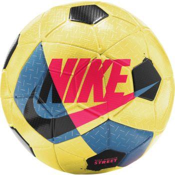 Nike AIRLOCK STREET X, nogometna žoga, rumena