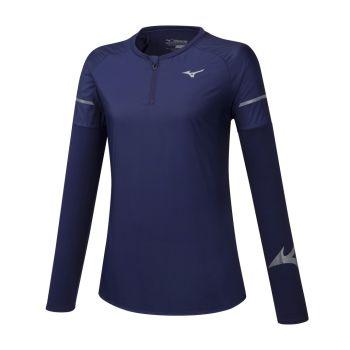Mizuno HINERI HYBRID LS TEE, ženska tekaška majica
