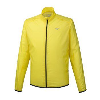 Mizuno HINERI POUCH JACKET, moška jakna, rumena
