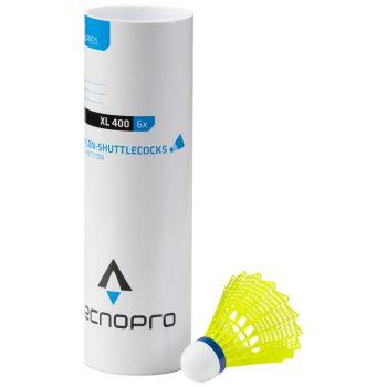 Tecnopro SHUTTLECOCK XL400-6, žogica za badminton, rumena