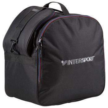 Intersport SKI BOOT SQUARE, torba za smučarske čevlje, črna