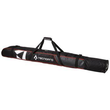 Tecnopro SKI COVER CARVING, torba za smuči 1par, črna