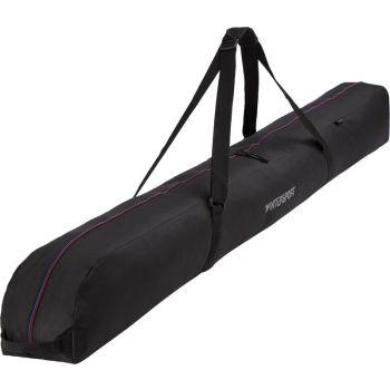Intersport SKI COVER CARVING 1 P, torba za smuči 1par, črna