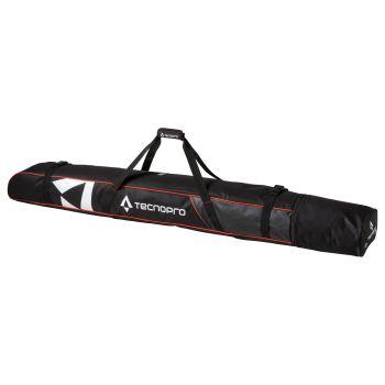 Tecnopro SKI COVER CARVING, torba za smuči 2para, črna